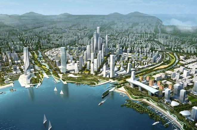 """17家境外公司参与前海规划设计 """"为了将前海打造成为深圳最有质量的"""