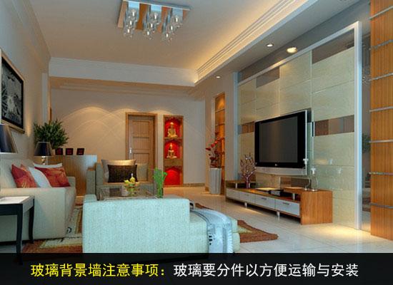 筑讯材料·金|带你了解玻璃电视背景墙