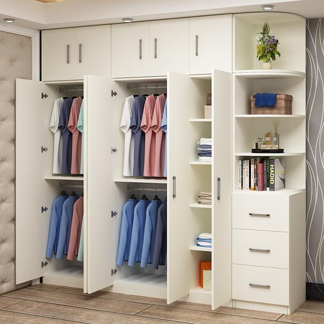 还在傻傻买布艺衣柜?大容量的实木衣柜更实用,便宜又好用