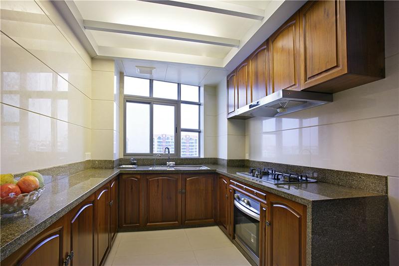 郑州龙发装饰正商红河谷167平方四室两厅新中式装修效果图
